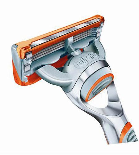 Future is Fusion - Gillette Fusion - Fotogafii produs