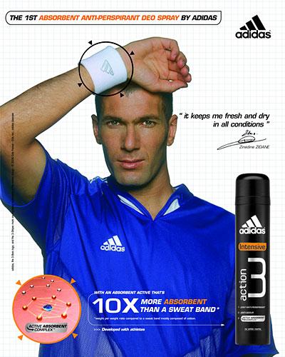 Zinedine Zidane for adidas action 3