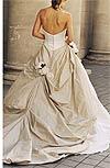 tafta drapata, trandafiri cusuti manual, corset (Justina McCaffrey)
