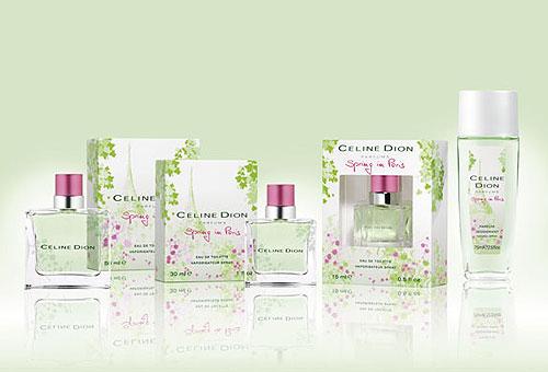 "Celine Dion ""Spring in Paris"""