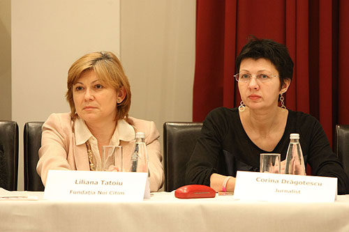 Corina Dragotescu si Liliana Tatoiu