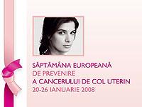 Masa rotunda - Saptamana de Prevenire a Cancerului de Col Uterin