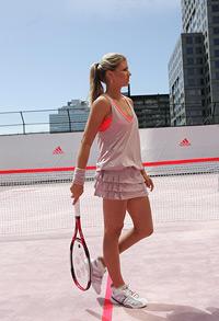 Maria Kirilenko, imaginea liniei de tenis adidas Stella McCartney