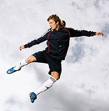 """Lion"" - marca David Beckham, pentru iubitorii de sport"