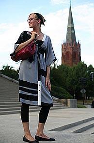 Toamna in rochie si botine
