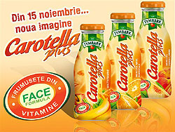 Carotella Plus - Frumusete din vitamine