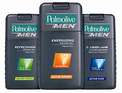 Palmolive for Men - de trei ori mai multa energie!