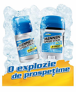 O explozie de prospetime cu Mennen X Fresh