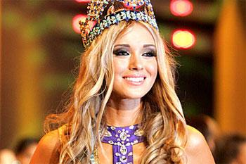 O rusoaica a castigat titlul Miss World