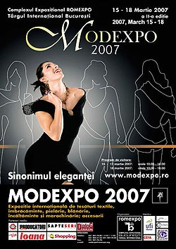 Modexpo 2007, editia a II-a de primavara