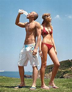 adidas face diferenta în moda de pe plaja