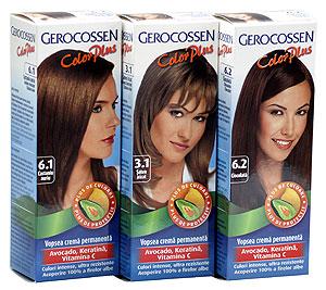 Sase nuante noi de vopsea de par Gerocossen Color Plus