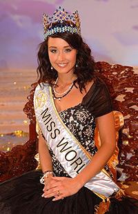 Miss World 2005 este dansatoare si studenta la Drept