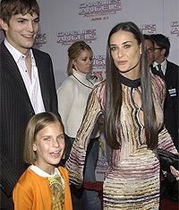 Demi, cea mai trendy mamica