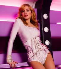 Madonna se imbraca de la H & M