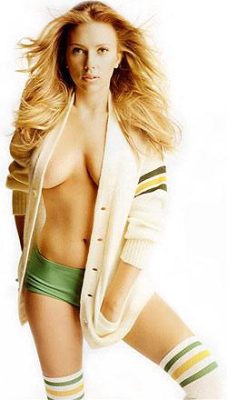 Scarlett, cea mai sexy femeie
