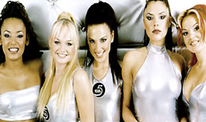Roberto Cavalli le imbraca pe Spice Girls