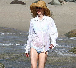 Nicole Kidman, o gravida in forma