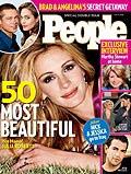 Julia Roberts, cap de afis al celor mai frumosi oameni din lume