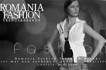 Romanian Fashion Trends and Brands debuteaza la Bucuresti