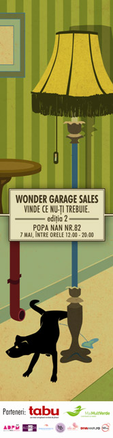 WONDER GARAGE SALE – editia a doua