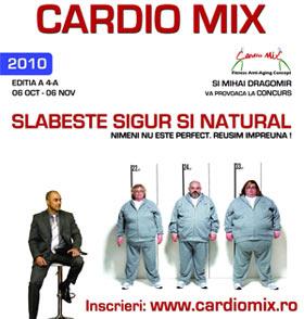 Concurs ''Slabeste sigur si natural cu Cardio Mix '' editia a 4-a