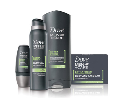 Primul sapun Dove Men+Care special creat pentru barbati
