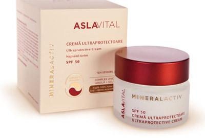 AslaVital Mineralactiv, soluţia pentru tenul sensibil