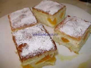 Prăjitură cu brânză dulce şi portocale