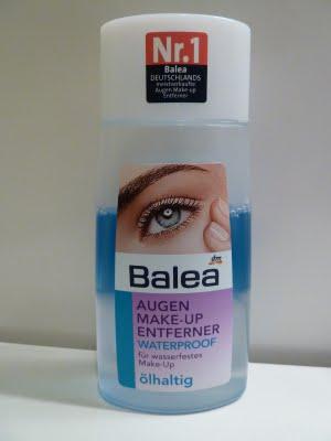 Balea eye make-up remover