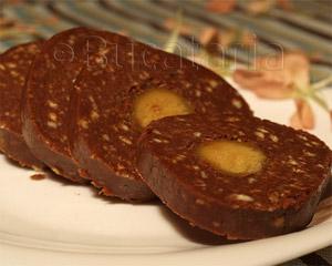 Rulada de biscuiti cu martipan