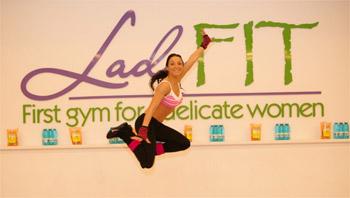 Fitness trends 2011 la Lady Fit