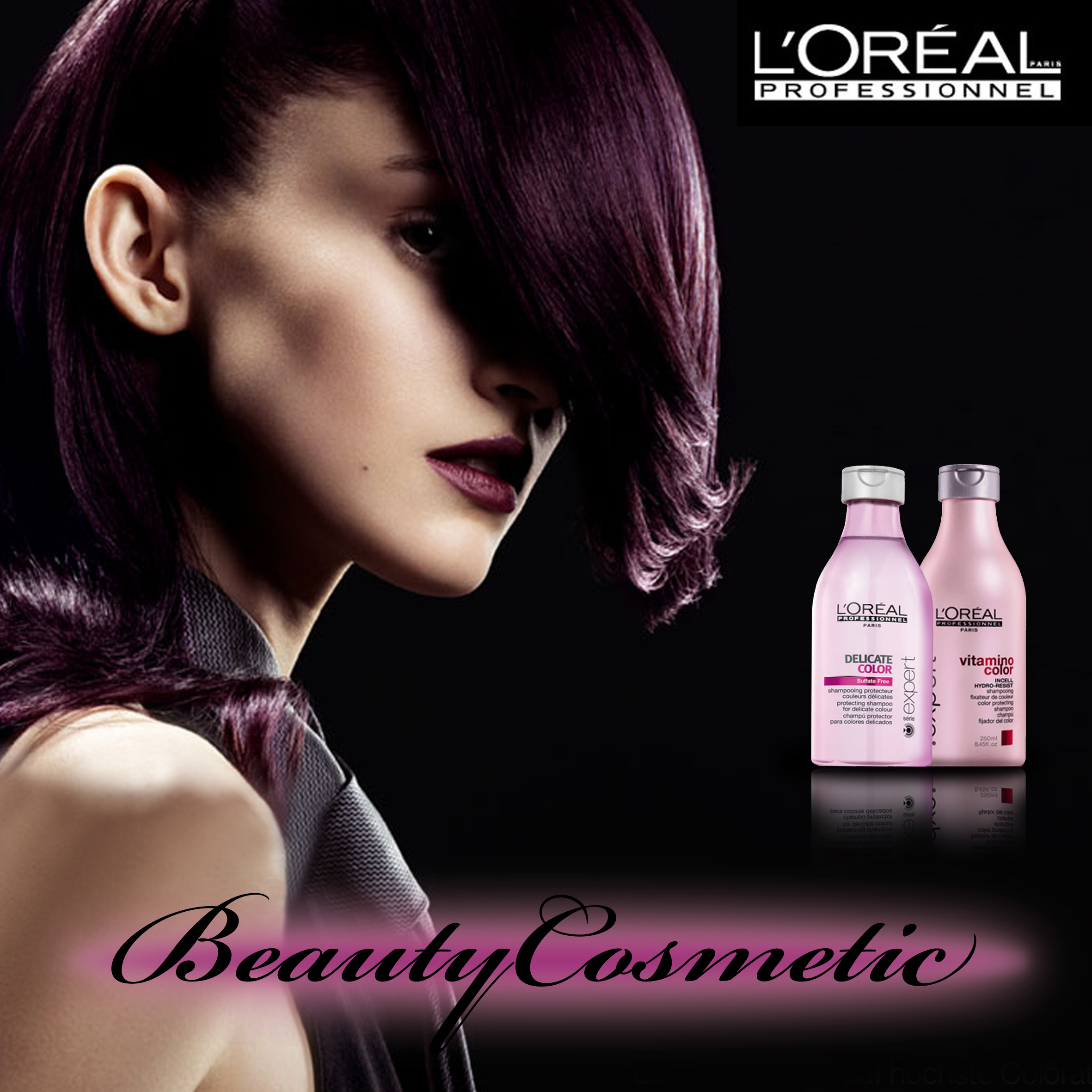 Produse cosmetice profesionale L'oreal sampon, balsam