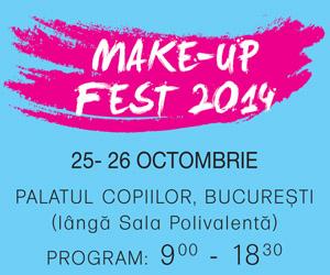 Schimbari Gratuite de look la MakeUpFest, 25-26 Octombrie